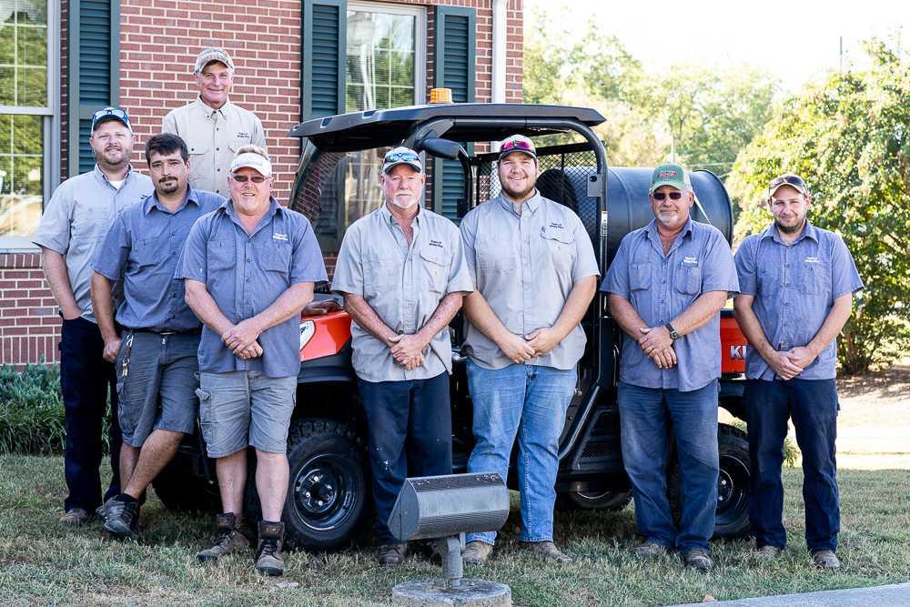 White Pine, TN, Public Works Department Group photo
