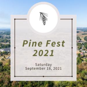 pine fest 2021 graphic